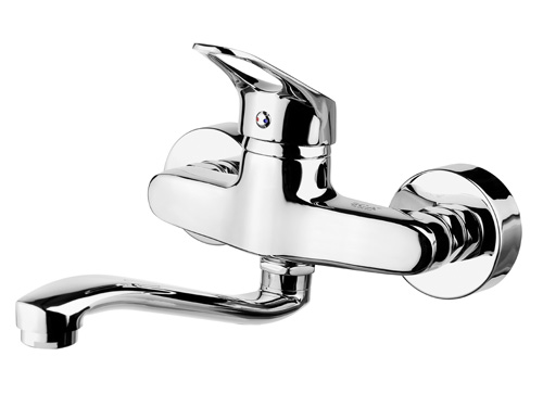 BS007 Wall Mounted Kitchen Taps
