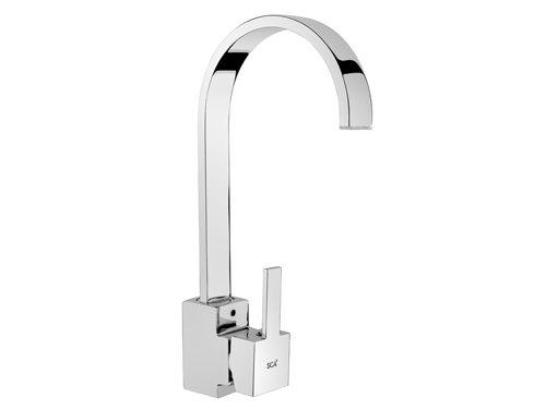 BS147 Swan Single Handle Kitchen Taps