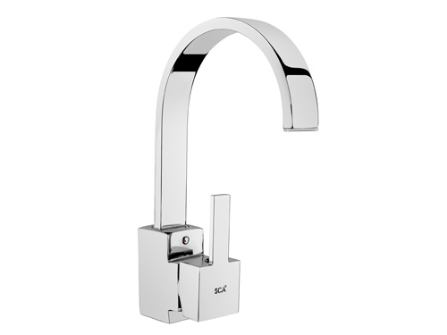 BS148 Swan Single Basin Taps