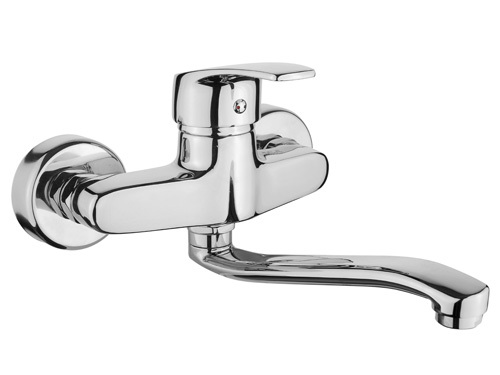 BS087 Wall Mounted Kitchen Taps