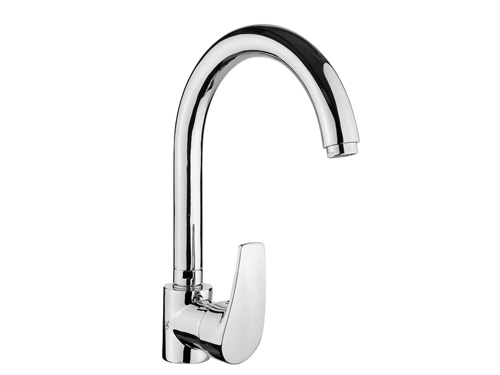 BS123 Swan Single Handle Kitchen Faucets
