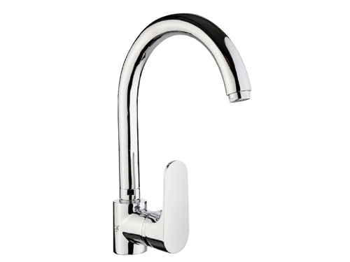 BS079 Swan Single Handle Kitchen Taps