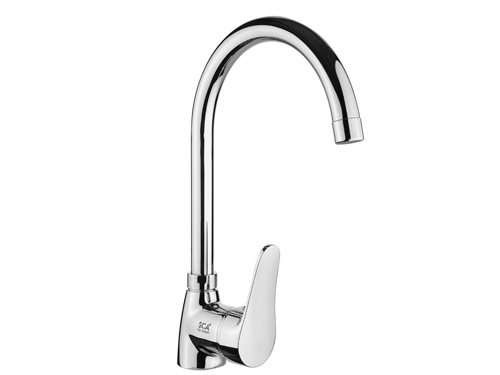 BS019 Swan Single Handle Kitchen Taps