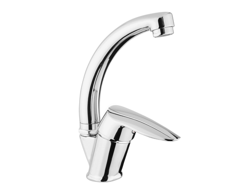BS095 Swan Single Handle Basin Taps