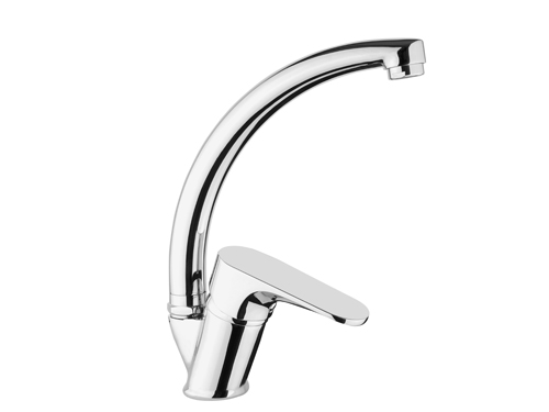 BS072 Swan Single Handle Kitchen Taps