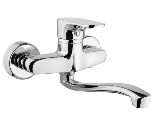 BS076 Wall Mounted Kitchen Taps