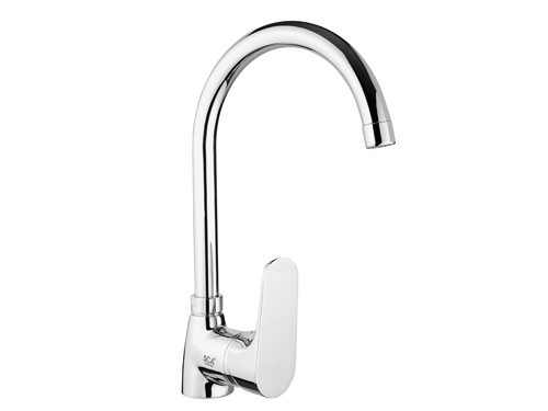 BS078 Swan Single Handle Kitchen Taps