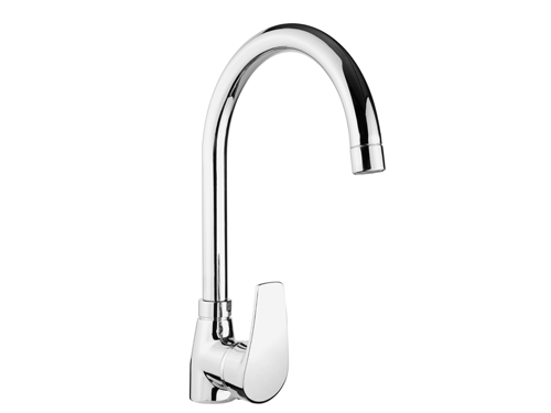 BS089 Swan Single Handle Kitchen Taps