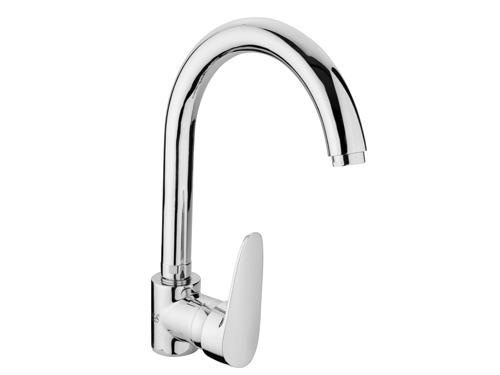 BS101 Swan Single Handle Kitchen Taps