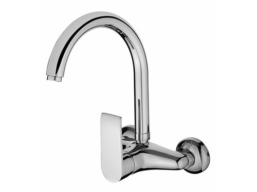 SCA104 Swan Single Handle Kitchen Faucet