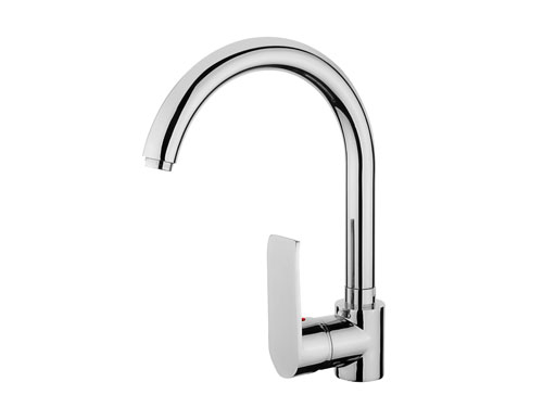 SCA110 Swan Single Handle Kitchen Faucet