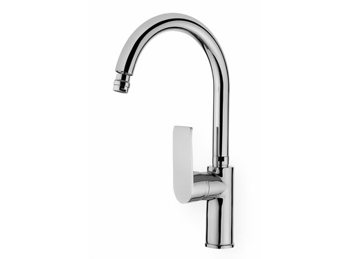SCA113 Swan Single Handle Kitchen Faucet