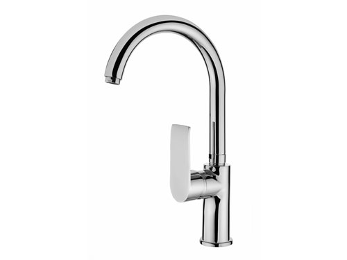 SCA114 Swan Single Handle Kitchen Faucet
