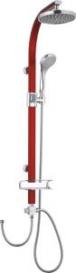 BS210 Red Shower Set